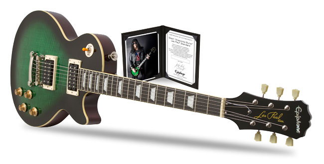 Slash Guitars - Guitars Collector