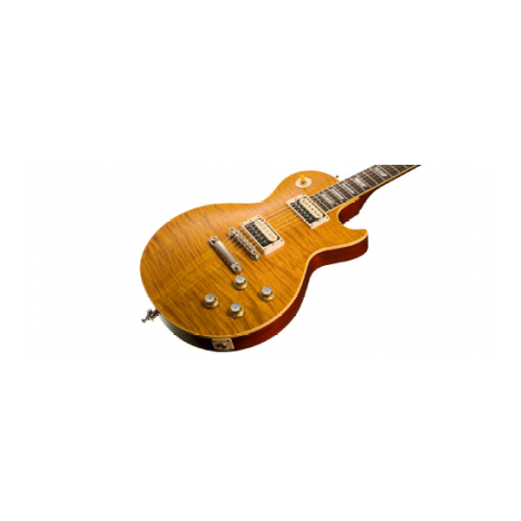 """the custom shop slash """"appetite for destruction"""" les paul is fitted with  vintage strings, sizes  010 -  046"""