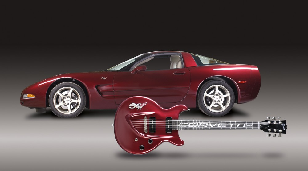 2003 Gibson Custom Shop Quot Corvette 50th Anniversary Quot Les