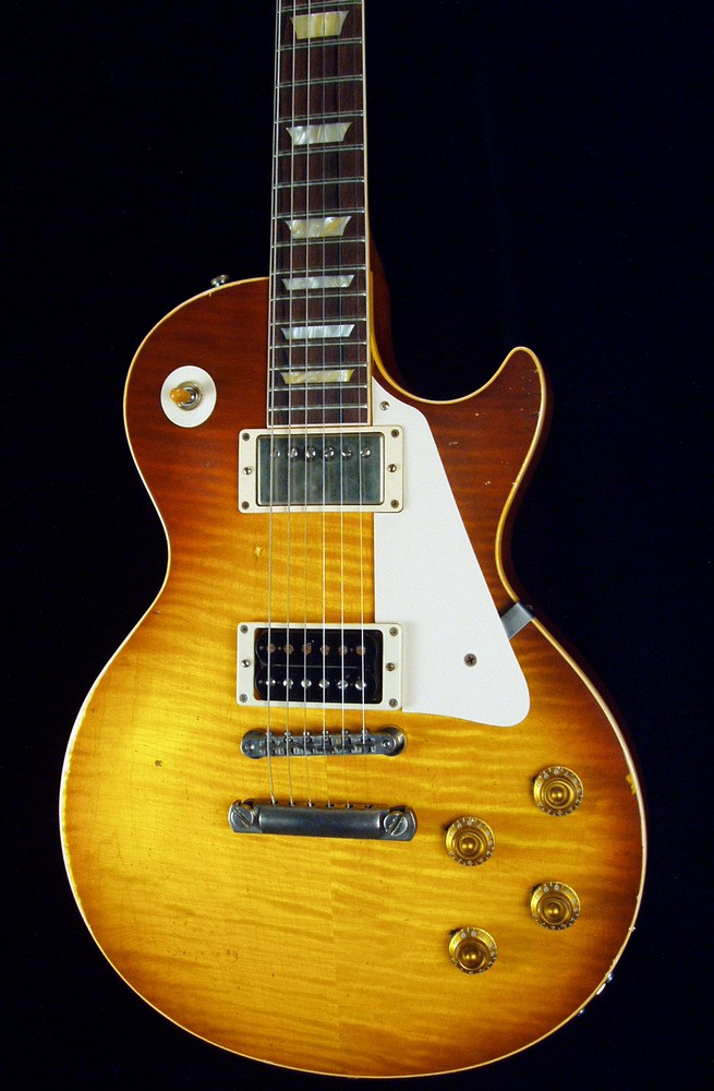 2004 gibson custom jimmy page number one les paul for Jimmy page les paul color