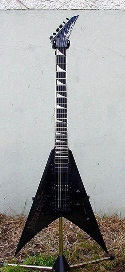 1985 jackson king v custom megadeth1 j2713 guitars collector. Black Bedroom Furniture Sets. Home Design Ideas